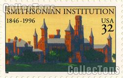 1996 Smithsonian Institution 150th Anniversary 32 Cent US Postage Stamp MNH Sheet of 20 Scott #3059