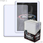 Topload Card Holder 3 x 4 - Pack of 25 by BCW