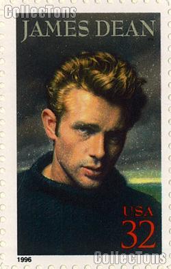 1996 James Dean - Legends of Hollywood Series 32 Cent US Postage Stamp MNH Sheet of 20 Scott #3082