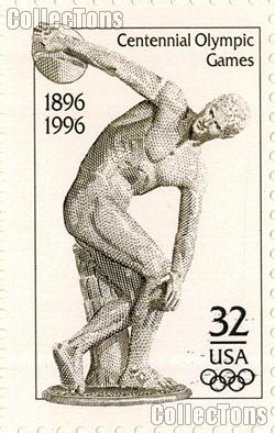 1996 Centennial Olympic Games 32 Cent US Postage Stamp MNH Sheet of 20 Scott #3087
