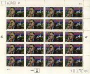 1997 Thornton Wilder  - Literary Arts Series 32 Cent US Postage Stamp MNH Sheet of 20 Scott #3134