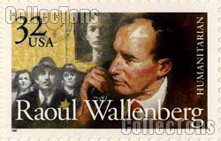 1997 Raoul Wallenberg 32 Cent US Postage Stamp MNH Sheet of 20 Scott #3135