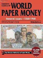 Krause Standard Catalog of World Paper Money General Issues 1368-1960 15th Edition - Cuhaj