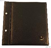 Showgard U.S. First Day Cover Stamp Album in Black - Holds 100 Covers