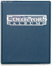 Trading Card Album 4-Pocket Pages Blue by Ultra PRO