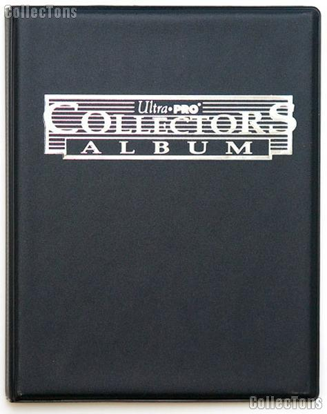 Trading Card Album 4-Pocket Pages Black by Ultra PRO