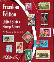 Harris Freedom Edition United States Postage Stamp Album