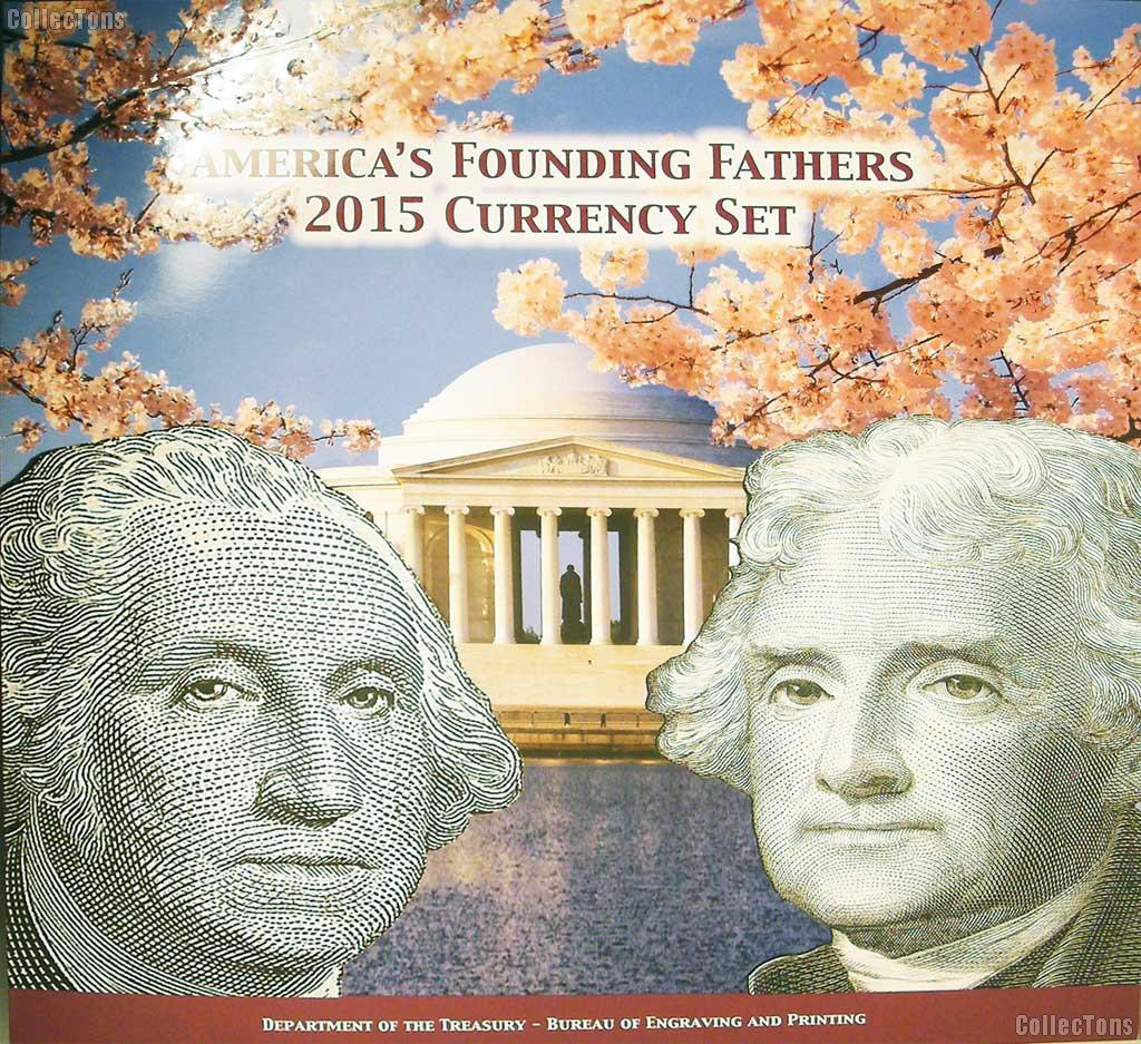 2015 America's Founding Fathers Currency Set