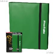 BCW Gaming PRO-FOLIO Album for 360 Cards in Green