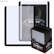 Black Border Topload Card Holder 3 x 4 - Pack of 25 by BCW