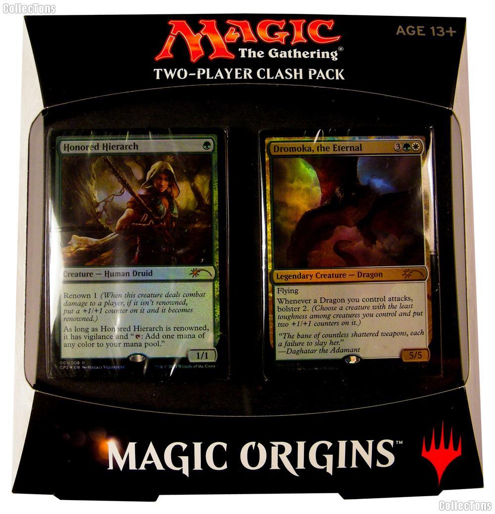 MTG Magic Origins - Magic the Gathering CLASH PACK Factory Sealed Box