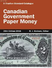 2016 Canadian Government Paper Money 28th Edition by R.J. Graham - Spiral