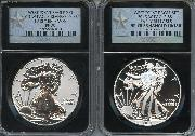 2013-W American Silver Eagle West Point Set (2 Coins) Reverse Proof and Enhanced EARLY RELEASES in Silver STAR Retro NGC PF 70 & SP 70