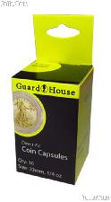 Guardhouse Box of 10 Coin Capsules for 1/4 oz GOLD EAGLES (22mm)