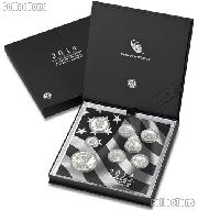 2014 Limited Edition SILVER Proof Set - 8 Coins