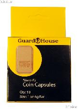 Guardhouse Box of 10 Coin Capsules for 1 oz BARS