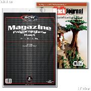 Magazine Storage Bags by BCW Pack of 100 Polypropylene Magazine Bags