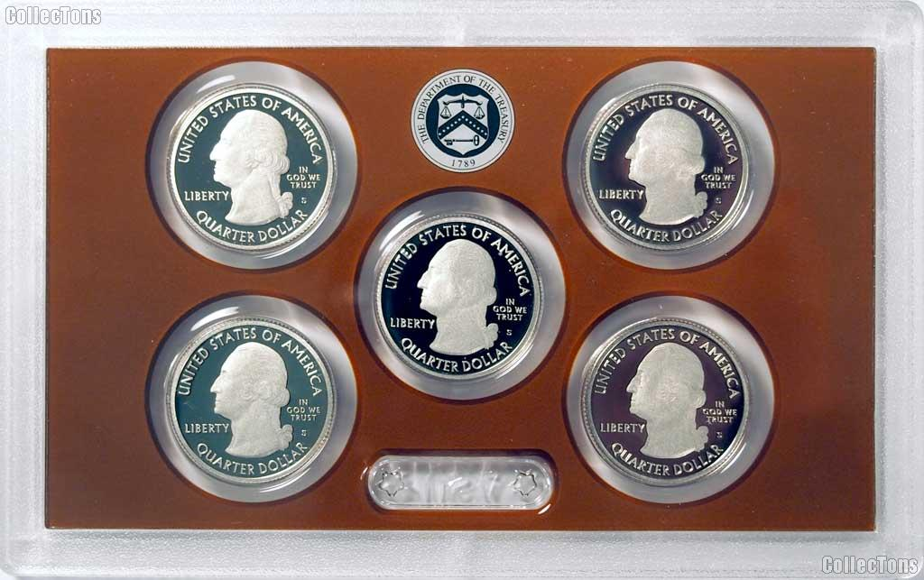 2016 QUARTER PROOF SET * ORIGINAL * 5 Coin U.S. Mint Proof Set
