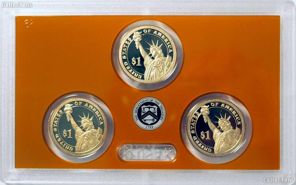 2016 PRESIDENTIAL DOLLAR PROOF SET * 3 Coin U.S. Mint Proof Set