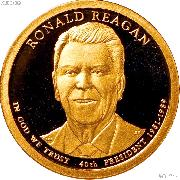 2016-S Ronald Reagan Presidential Dollar GEM PROOF Coin