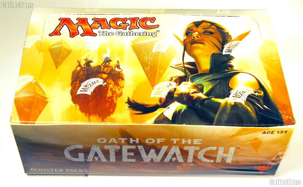 MTG Oath of the Gatewatch  - Magic the Gathering Booster Factory Sealed Box