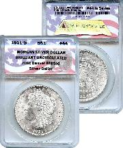 CollecTons Keepers #44: 1921-D Morgan Silver Dollar Certified in Exclusive ANACS Brilliant Uncirculated Holder