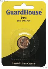 Guardhouse Coin Capsule Direct Fit Coin Holder for DIMES