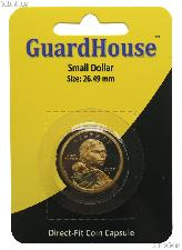 Guardhouse Coin Capsule Direct Fit Coin Holder for SMALL DOLLARS