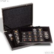 Lighthouse Volterra de Luxe Presentation Case for 60 Quadrum Coin Holders Black Matte