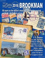 2016 Brookman Stamp Price Guide - Postage Catalog (Spiralbound)