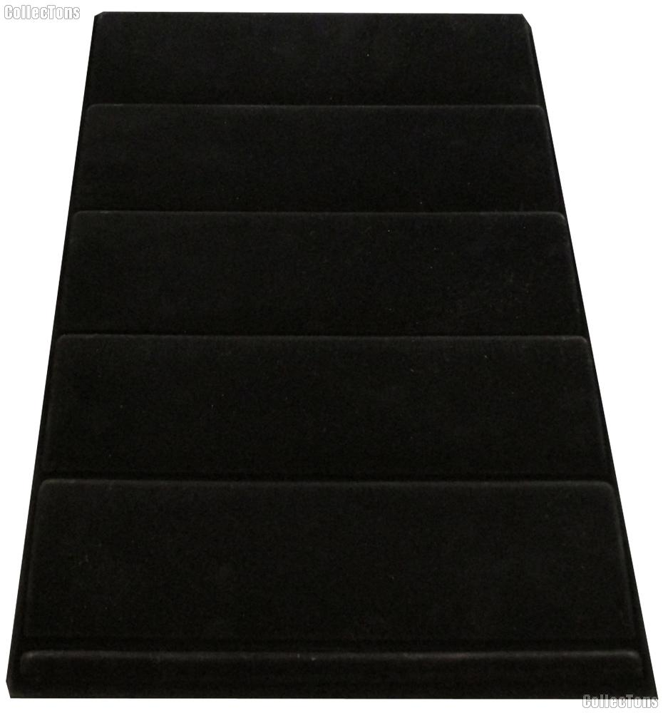 Vertical 5-Tier Coin Tray for Slabs in Black