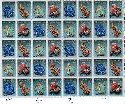 1992 Minerals 29 Cent US Postage Stamp MNH Sheet of 40 Scott #2700-2703