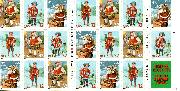 1995 Santa + Children 32 Cent US Postage Stamp MNH Booklet of 20 Scott #3011a