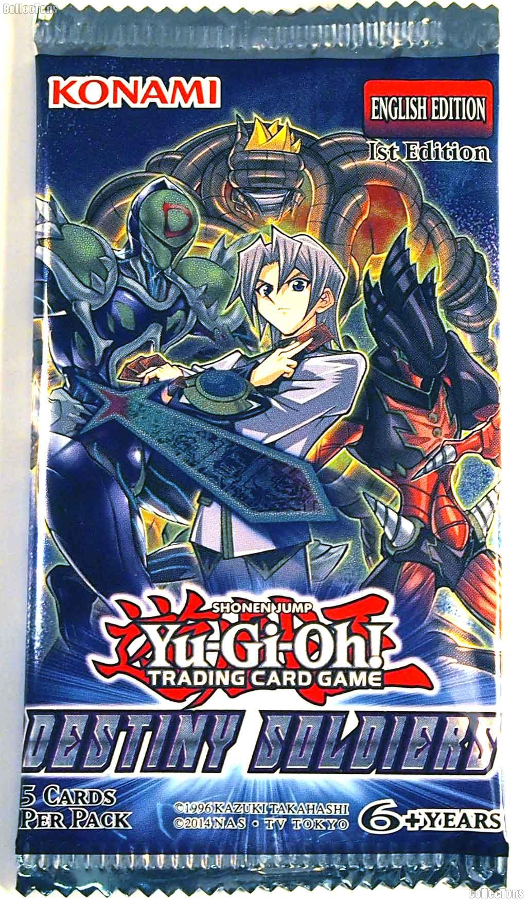 Yu-Gi-Oh! - Destiny Soldiers Booster Pack