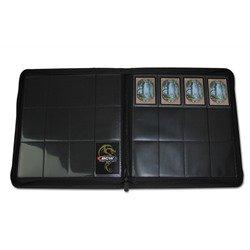 BCW Gaming Z-Folio 12-Pocket LX Album for 480 Cards in Black