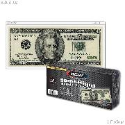 Currency Sleeves Modern Size by BCW Pack of 50 Semi-Rigid Currency Holders
