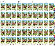 1988 Virginia Statehood 25 Cent US Postage Stamp MNH Sheet of 50 Scott #2345