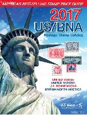 2017 US / BNA Postage Stamp Catalog by H.E. Harris & Co. - Hard Cover Spiral