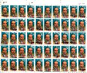 1988 James Weldon Johnson 22 Cent US Postage Stamp MNH Sheet of 50 Scott #2371