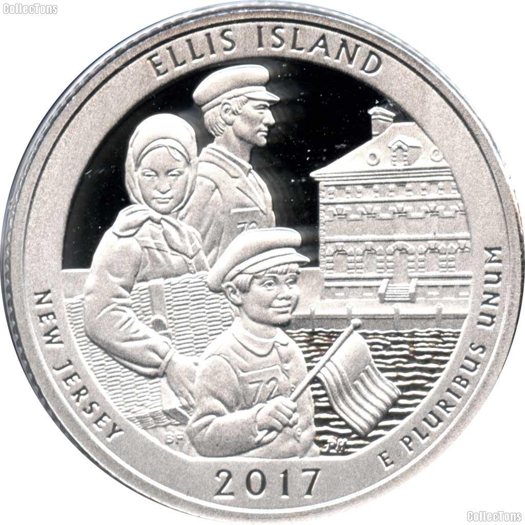 2017 S Ellis Island New Jersey Enhanced America the Beautiful National Parks