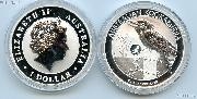 2016 Australian 1 oz Silver Kookaburra with Monkey Privy - Brilliant Uncirculated