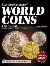 Krause Standard Catalog of World Coins 1701-1800 7th Edition by Cuhaj - Paperback