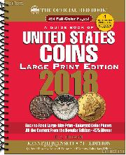 Whitman Red Book of United States Coins 2018 - Large Print