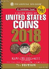 Whitman Red Book of United States Coins 2018 - Spiral