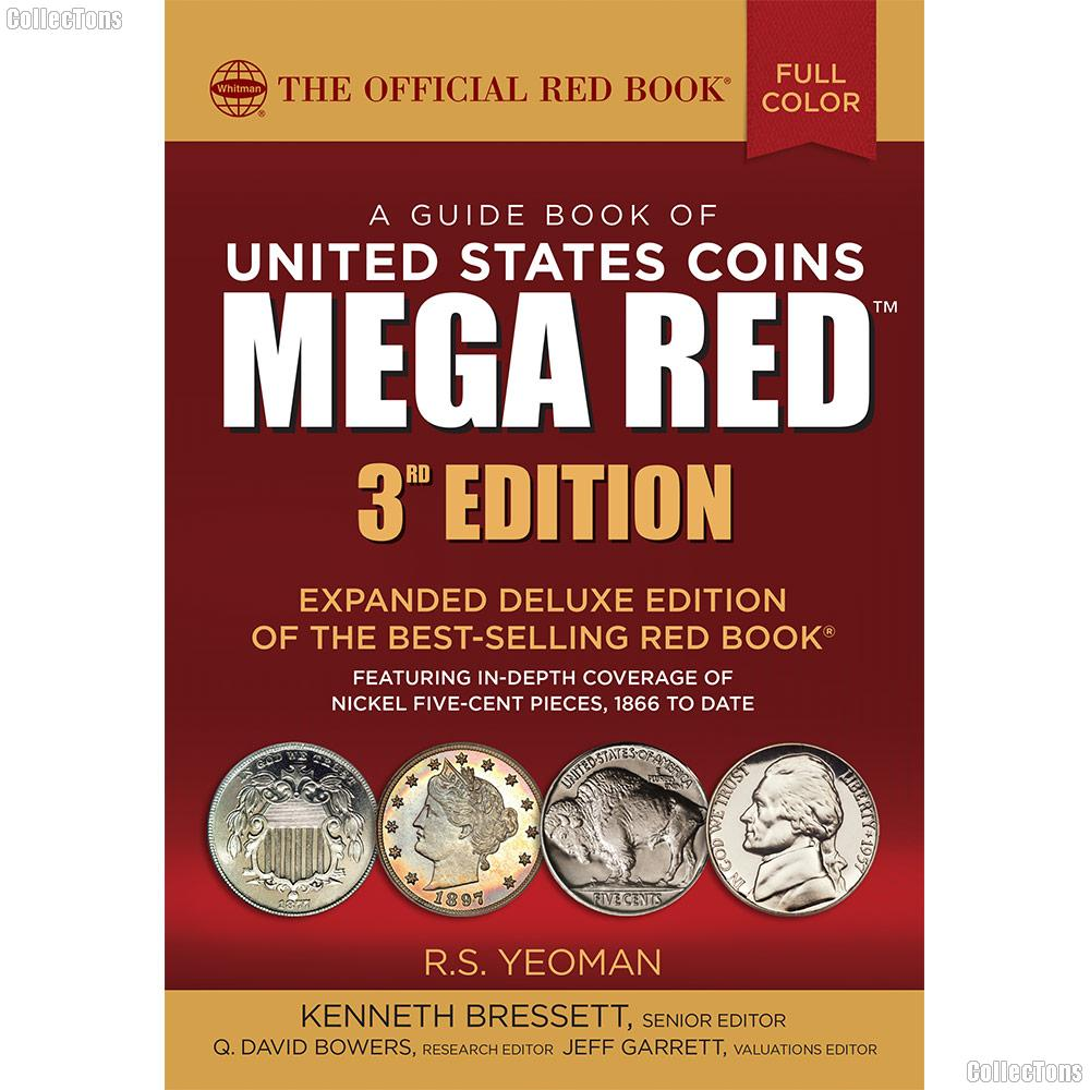 Whitman Mega Red Book of United States Coins 2018 - Deluxe Edition