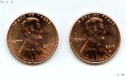 2017 P&D Lincoln Shield Cent - Union Shield Cents