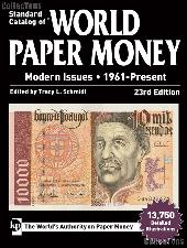 Krause Standard Catalog of World Paper Money Modern Issues 1961-Present, 23rd Edition