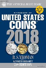 Whitman Blue Book United States Coins 2018 - Paperback