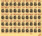 1982 Horatio Alger 20 Cent US Postage Stamp MNH Sheet of 50 Scott #2010
