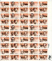 1983 Inventors 20 Cent US Postage Stamp MNH Sheet of 50 Scott #2055-2058